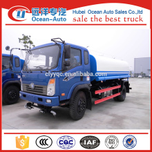 Sinotruk CDW Diesel Mobile Mini cisterna de agua Camión de rociadores de agua