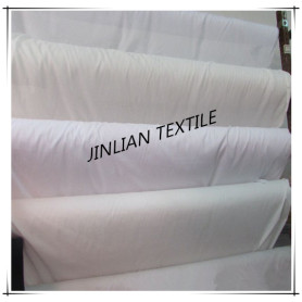 Polyester 80 Cotton 20 Mixed White Fabric