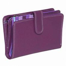 Wallet, snap button closure, nine card slots