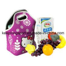 Colores impermeabilizan el bolso del almuerzo del neopreno, bolso del refrigerador del almuerzo