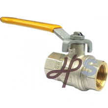 Fabricante de la válvula de bola de gas del hilo femenino de cobre amarillo, estándar EN331