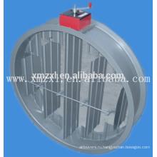Ручным или электрическим раунд пожарный клапан для системы отопления и вентиляции в хорошем качестве