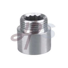 Brass chrome coupling