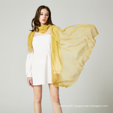 Women′s 180*125cm Silk Like Solid Spring Autumn Summer Woven Beach Cover Shawl Scarf (SW122)
