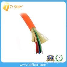 8 Kern 62.5 / 125 MultiMode Innenverteilung Glasfaserkabel
