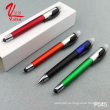 Bolígrafo promocional de la pantalla táctil al por mayor de la pluma del Highlighter del precio bajo en venta