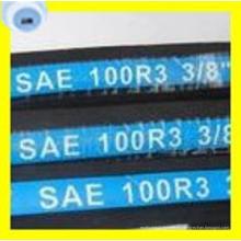 Calidad superior SAE 100 R3 Dos mangueras hidráulicas trenzadas de fibra de acero de alta resistencia (2T / B)