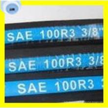 Tuyau hydraulique tressé de fibre de haute qualité d'acier de la meilleure qualité SAE 100 R3 deux (2T / B)