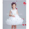 Um pedaço do partido do bebê menina vestir coreano vestido de vestido de renda vestido para festa e desempenho