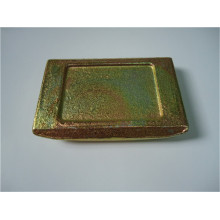 Thermal Welding Slide Gate Plate For Purging Plugs
