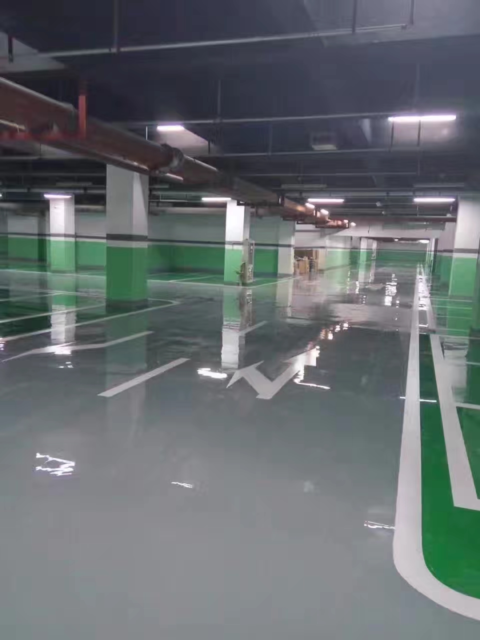 Parking Lot Epoxy Mortar Anti Static Floor Paint
