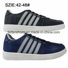 Neueste niedrige Preis Männer Injektion Schuhe Jean Skate Schuhe (MP16721-15)