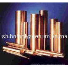 Ground Tungsten Copper Alloy Bars