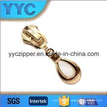 No. 3827 Customer Logo Zip Pulls for Wallet Zip Puller Slider