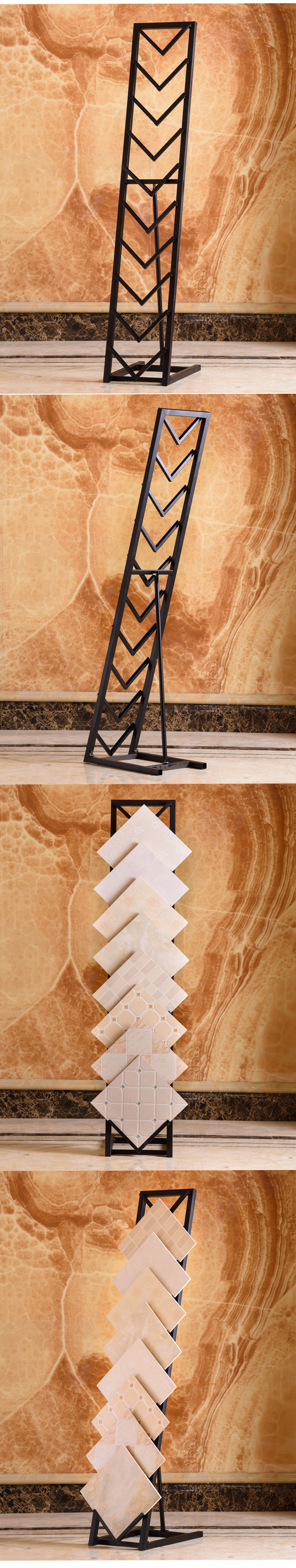 Metal Tiles Display Stand