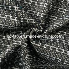Tecido bonito do jacquard de Poly / Rayon / Spandex (QF13-0695)