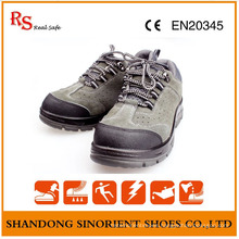 Suede Leather High Voltage Resisitance Breathable Safety Shoes in Stock