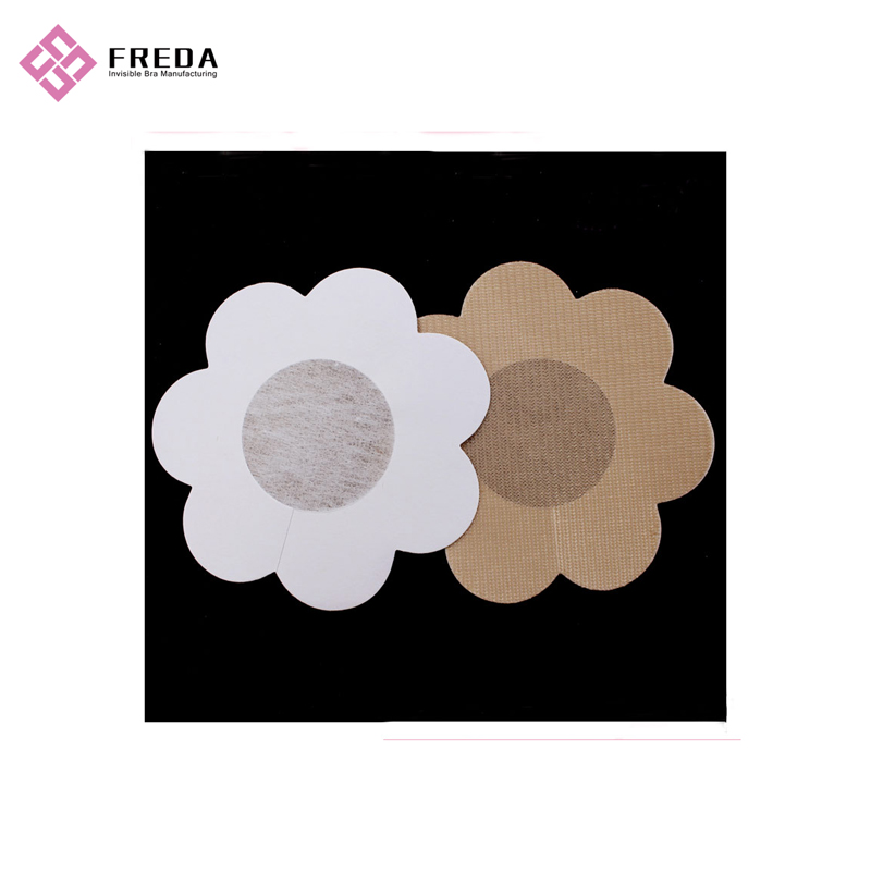 Petal Lace Design Reusable Nipple Covers