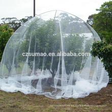 Trampa de red anti-pájaro de agujero cuadrado de 15 mm * 15 mm de alta resistencia para proteger las plantas