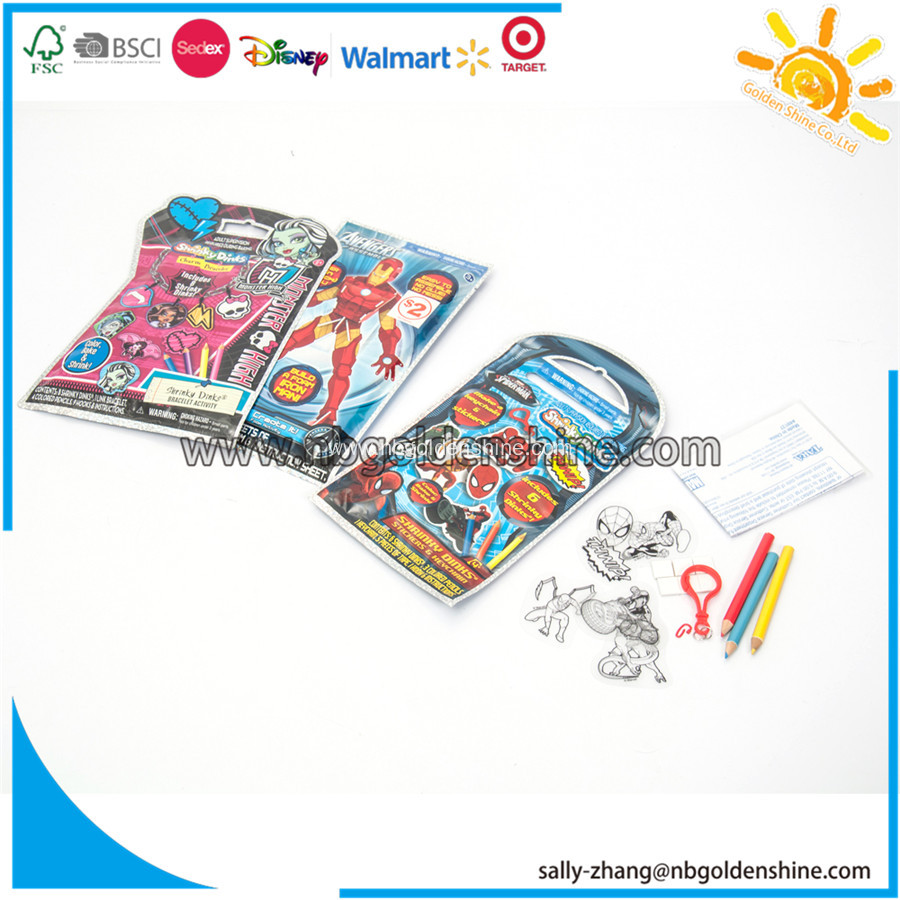 Shrinky Dinks Bracelets In Foil Bag