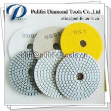 Tampon de polissage de granit à usage sec