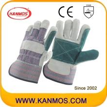 Double Palm Arbeitsschutz Kuh Split Leder Arbeitshandschuhe (110141)