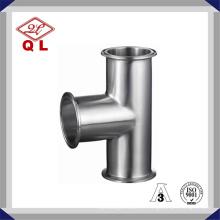 Sanitär flaches flexibles T-Stück Edelstahl Clamed Gleiches T-Stück