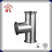 Stainless Steel Weld Cross 3A DIN Sanitary Pipe Fittings