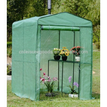 Petite maison verte extérieure portable