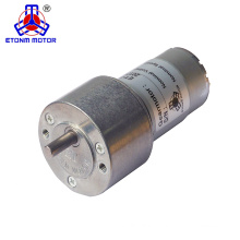 2018 hot sale high torque dc motor 12v 6.35mm for robotics