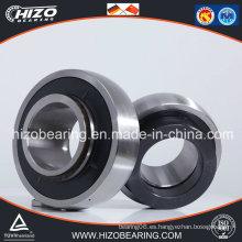 Rodamiento de bolitas del acero inoxidable con la cubierta plástica / casa del hierro (SA / SB204 / 205/206/207/208/209/210)