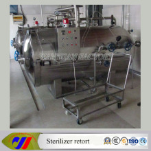 Esterilizador de Autoclave de Retort horizontal de alta presión