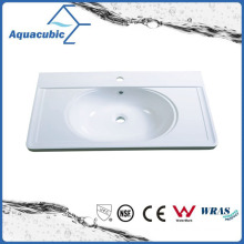 Grade a Polymarble Rectangular Counter Top Basin Acb1005