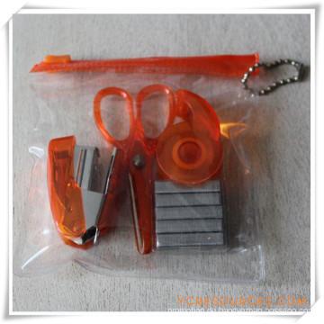 PVC-Box-Briefpapier-Set für Werbegeschenk (OI18019)
