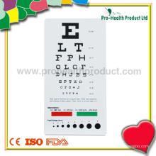 Pocket Size Vision Test Chart