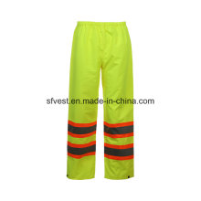 Hi-Vis Safety Product Work Reflective Waterproof Rain Pants