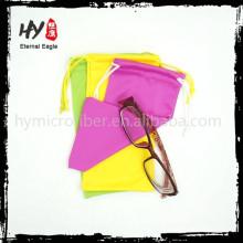 atacado malas de óculos sacos de tecido de microfibra bolsa de óculos de sol macio