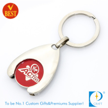Wholesale Promotion Trolley Coin Keyring (KD-288)