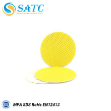 durable low price 225mm yellow wall dry sanding disc from china