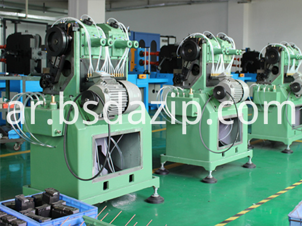 zipper machinery