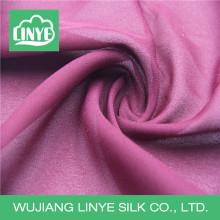 Гладкая полиэфирная крепная ткань, ткань шарфа женщин, ткань юбки девушки