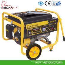 Generador de poder eléctrico de la gasolina 2kw-6kw con el CE, ISO9001