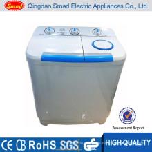540W 13KG Kunststoff und Edelstahl Twin-Tub elektrische halbautomatische nationale Kleidung Waschmaschine