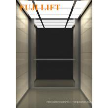 Miroir en acier inoxydable gravé Ascenseur résidentiel à passagers