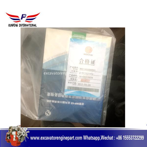 Weichai Construction Diesel Engine Wd10g220e23