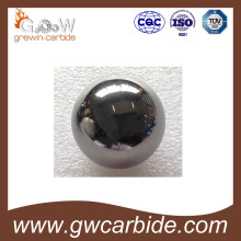 Bola de carboneto de tungstênio com vários tipos
