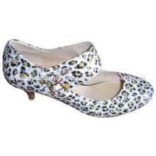 Casual Shoe, round toe, high-heeled, rubber sole, comfortable women's collection, high-end productsNew