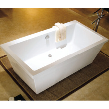 2015 New Acrylic Freestanding Plastic Bathtub for Adult
