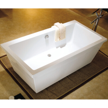CE, Cupc Square Freestanding Modern Bathtub