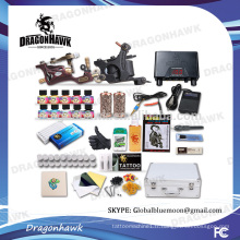 2 Tattoo Guns Kits de tatouage professionnels Kits de machines de tatouage en gros